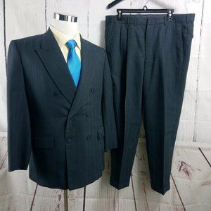 Ng Kang Tailor Custom Made Grayish Blue 2pc Suit